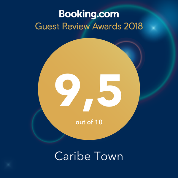 BOOKING GUEST REVIEW AWARDS 9,5 2018 HOTEL CARIBE TOWN
